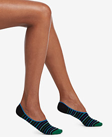 HUE® 3-Pk. High-Cut Liner Socks