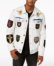 Reason Men's Patches Denim Jacket