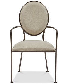 Enosburgh Back Armchair Dining Chair, Quick Ship