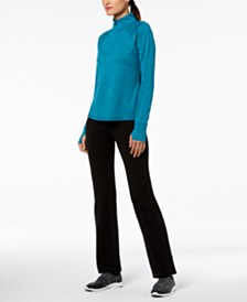 2 for $30 Ideology Half-Zip & Yoga Pants, Created for Macy's