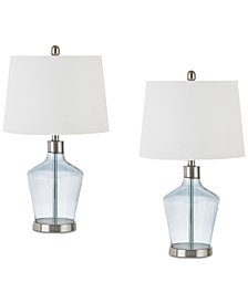 JLA Set of 2 Harmony Table Lamps