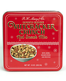 R.H. Macys & Co. 10oz Nutcracker Crunch Gift Tin
