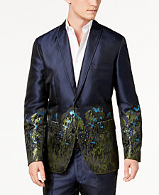I.N.C. Men's Slim-Fit Peacock Blazer, Created for Macy's