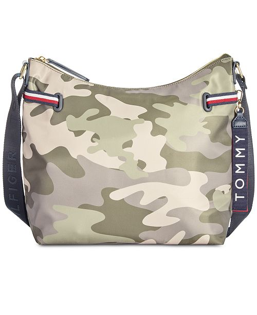9a3919a513 Tommy Hilfiger Shelly Hobo   Reviews - Handbags   Accessories ...