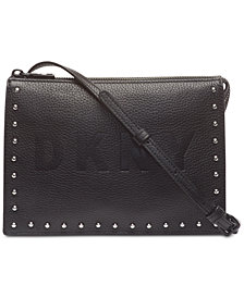 DKNY Commuter Zip Logo Crossbody, Created for Macy's