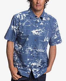 Quiksilver Waterman Men's Pacific Seas Shirt