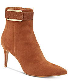 Calvin Klein Women's Georgene Booties, Created For Macy's