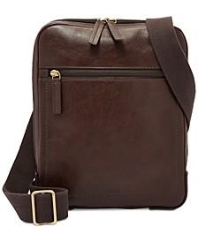 Men's Haskel Leather Courier Case