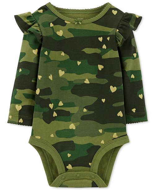 Baby Girl Camo Clothes Extraordinary Carter's Baby Girls CamoPrint Cotton Bodysuit All Baby Kids