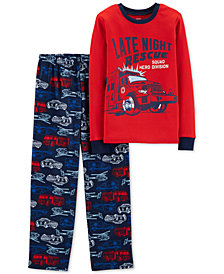 Carter's Little & Big Boys 2-Pc. Late Night Rescue Pajama Set