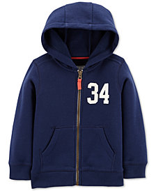Carter's Toddler Boys Zip-Up Hoodie
