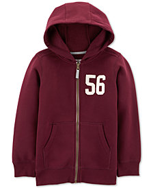 Carter's Little & Big Boys Zip-Up Hoodie