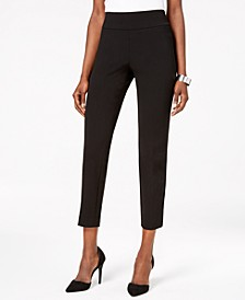 Pull-On Slim-Leg Pants