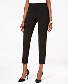 Nine West Pull-On Slim-Leg Pants