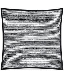 "Oscar|Oliver Flen Cotton Black 20"" X 20"" Decorative Pillow"