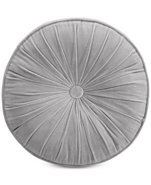 Whim by Martha Stewart Collection Velvet Circle Decorative Pillow, Created for Macy's Bedding