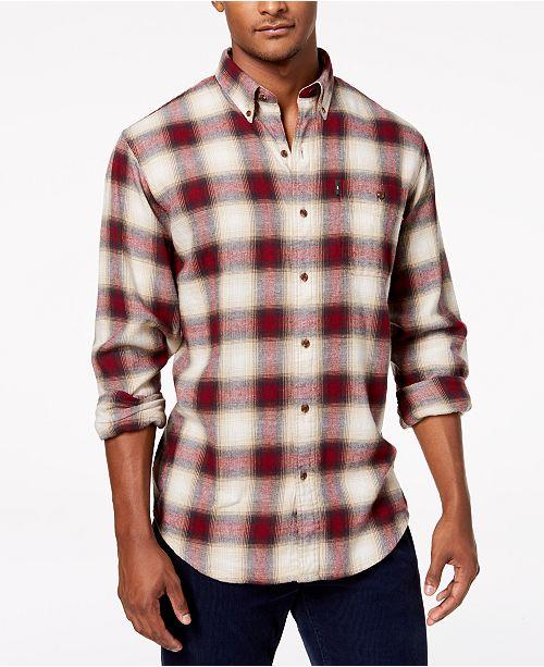 0304b66afe G.H. Bass & Co. Men's Fireside Flannel Shirt & Reviews - Men - Macy's