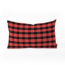 Deny Designs Allyson Johnson Winter Plaid Oblong Throw Pillow