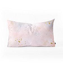 Deny Designs Iveta Abolina Rose Winterland Oblong Throw Pillow