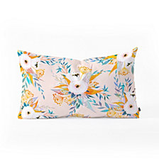 Deny Designs Iveta Abolina Benedetta Garden II Oblong Throw Pillow