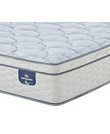 "Serta Sertapedic 12.75"" Doldfield Firm EuroTop Mattress- California King"