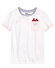 Disney Big Girls Minnie Mouse T-Shirt