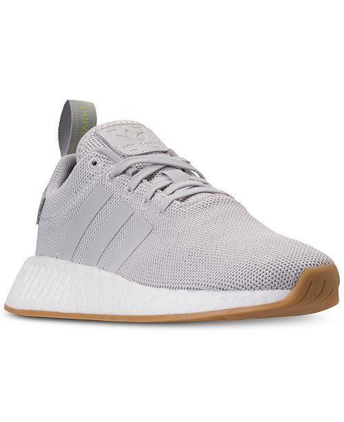 ab9596fbacf adidas Boys  NMD R2 Casual Sneakers from Finish Line   Reviews ...