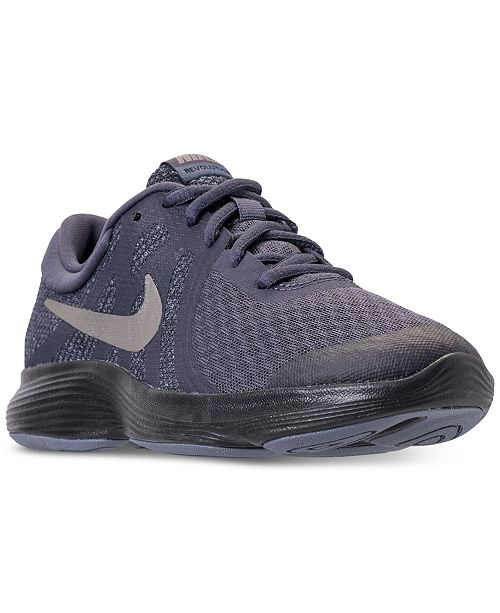 new product 0a543 ef961 ... Nike Boys  Revolution 4 Running Sneakers from Finish ...