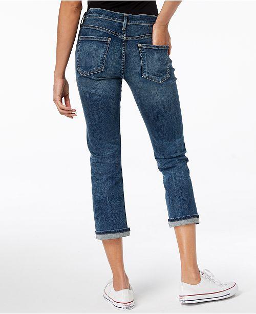 dirt cheap popular design men/man Emerson Slim-Fit Cropped Boyfriend Jeans