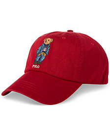 Polo Ralph Lauren Men's Polo Bear Twill Cotton Cap