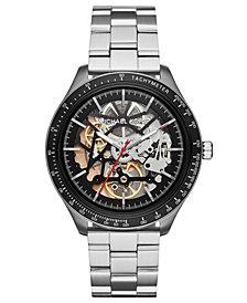 Michael Kors Men's Automatic Merrick Stainless Steel Bracelet Watch 44mm