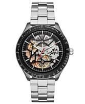 66502ecc62ac Michael Kors Men s Automatic Merrick Stainless Steel Bracelet Watch 44mm