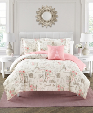 Closeout! City Of Romance 5-Piece Comforter Set, Queen Bedding