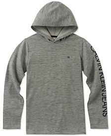 Calvin Klein Big Boys Pullover Logo Hoodie