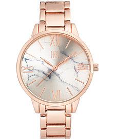 I.N.C. Women's Rose Gold-Tone Bracelet Watch 38mm, Created for Macy's