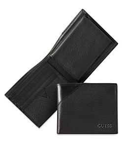 a11e0ba98 GUESS Monterrey Billfold Wallet with Removable Passcase