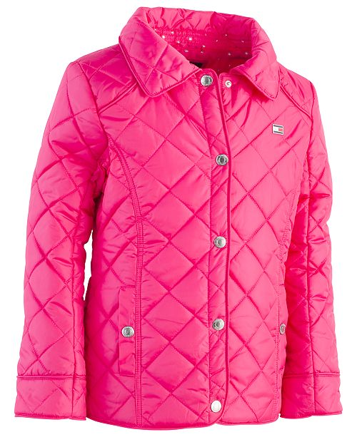 c5581432 Tommy Hilfiger Toddler Girls Quilted Barn Jacket & Reviews - Coats ...