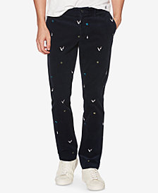 Original Penguin Men's Bowling Glow In The Dark Corduroy Chinos