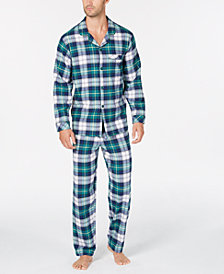 Matching Family Pajamas Men's Mackenzie Plaid Pajama Set, Created For Macy's
