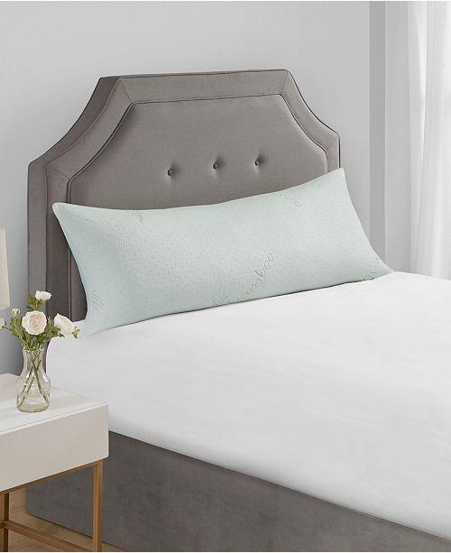 JLA Home Sleep Philosophy Bamboo Shredded Memory Foam Body Pillow