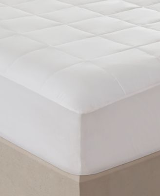 Sleep Philosophy 300 Thread Count Twin Cotton Tencel Filled Mattress Pad
