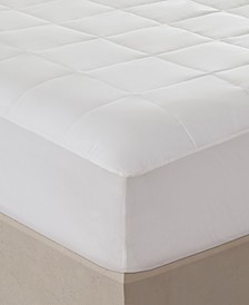 Sleep Philosophy 300 Thread Count Full Cotton Tencel Filled Mattress Pad Antimicrobial Purista Odor Eliminator