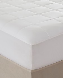 Sleep Philosophy 300 Thread Count Queen Cotton Tencel Filled Mattress Pad Antimicrobial Purista Odor Eliminator