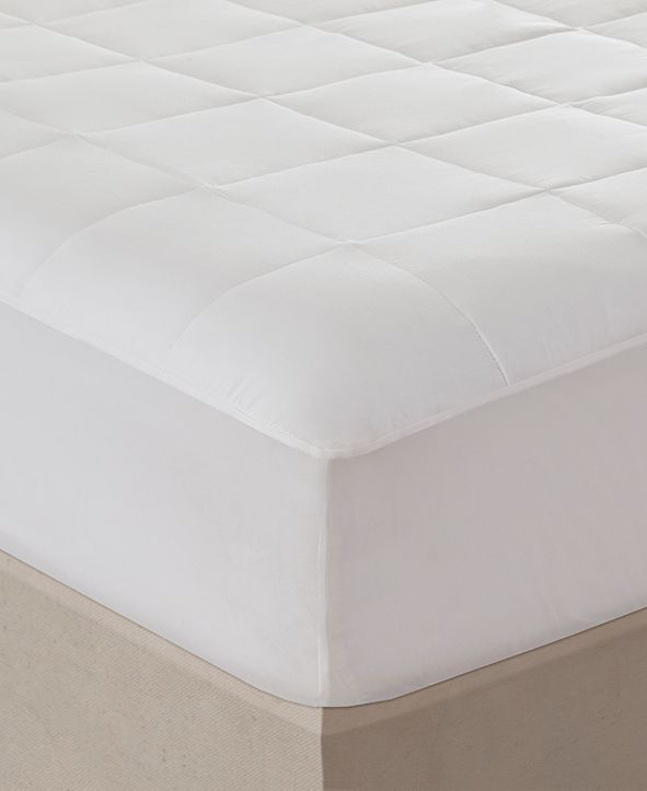 Beautyrest Sleep Philosophy 300 Thread Count Twin Cotton Tencel Filled Mattress Pad