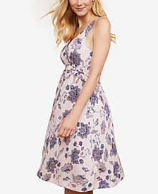 Jessica Simpson Nursing Floral-Print Nightgown