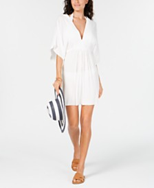 Lauren Ralph Lauren Empire-Waist Cover-Up