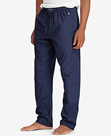 Polo Ralph Lauren Men's Woven Cotton Pajama Pants