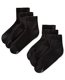 Men's 6-Pk. X-Temp Ankle Socks