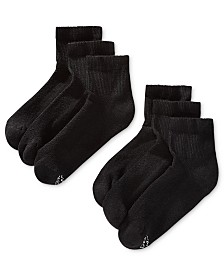 Hanes Men's 6-Pk. X-Temp Ankle Socks