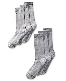 Hanes Men's 6-Pk. X-Temp Crew Socks